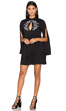 Valley of the Vine Dress in Black