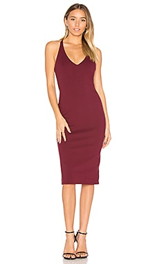 Magma Dress in Wine
