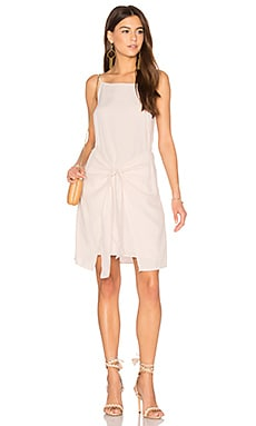 Island Tie Front Dress in Beige