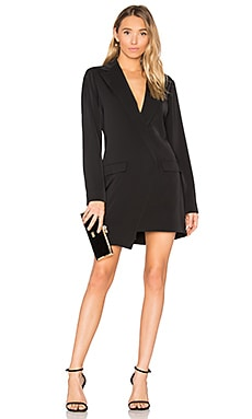 Blazer Mini Dress in Black