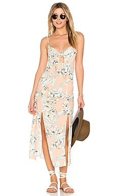 Palm Springs Midi Dress in Multi