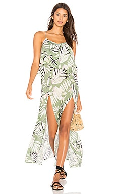 Shady Fronds Maxi Dress
