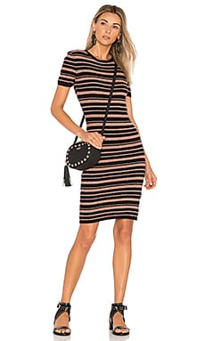 Luxembourg Stripe Knit Dress