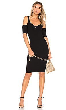 Francis Cold Shoulder Knit Dress