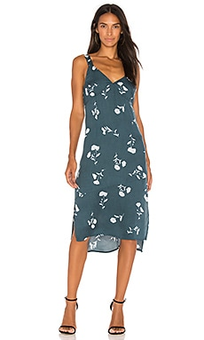 Falling Blooms Midi Slip Dress