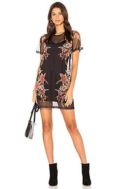 Flower Mesh Dress