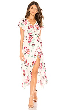 Pretty Petals Wrap Dress MINKPINK $67