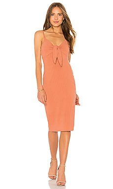 Andalusia Tie Front Dress MINKPINK $69