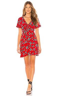 Купить Платье terrace - MINKPINK красного цвета