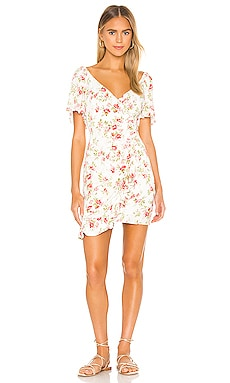 Uncharted Heart Mini Dress MINKPINK $89