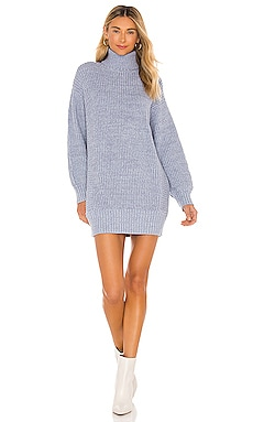 Echoes Knit Dress MINKPINK $109 NEW