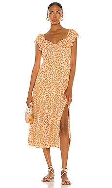 Sun Valley Midi Dress MINKPINK $109