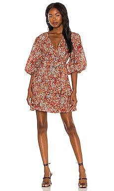 Gabae Wrap Mini Dress MINKPINK $119 NEW