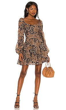 Persian Paradise Mini Dress MINKPINK $119 NEW