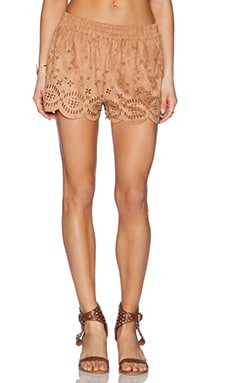 MINKPINK Lackawanna Blues Short in Tan