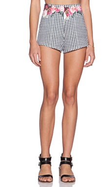 MINKPINK Garden Bed Picnic Short in Multi