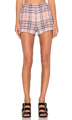 MINKPINK Not So Plaid Short in Multi