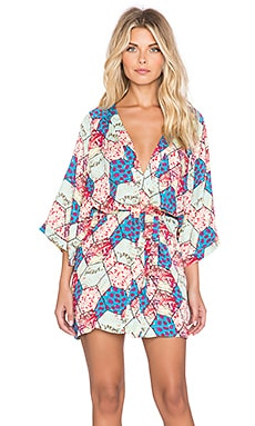MINKPINK Save Tonight Kimono in Multi