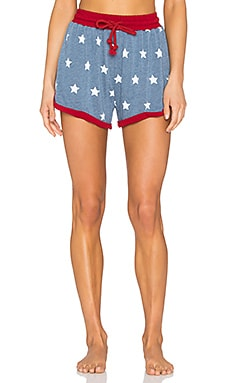 MINKPINK Head In the Stars Shorts in Multi