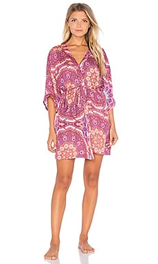 Psychedelia Robe in Multi