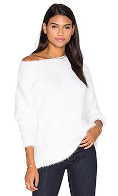Soft Serve Sweater in Off White
