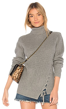 Secret Maze Lace Up Jumper