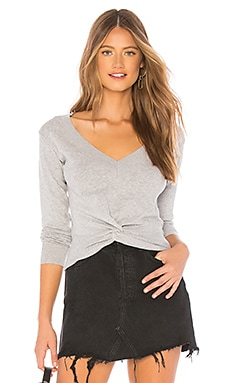 Knit Twist Front Sweater MINKPINK $79