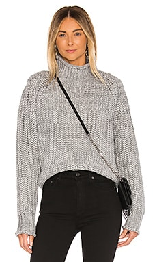 Stevie High Neck Knit Sweater MINKPINK $99