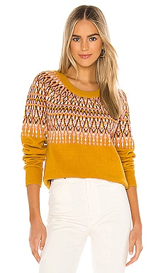 Lean On Fairisle Sweater MINKPINK $99