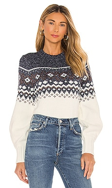 Solstice Fairisle Sweater MINKPINK $89 NEW
