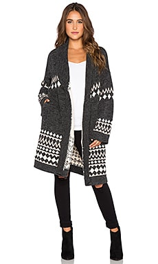 MINKPINK Sweet Like Chocolate Cardigan in Multi
