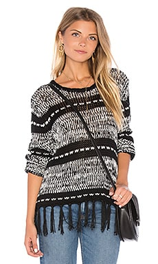Smoke on the Water Sweater in Multi