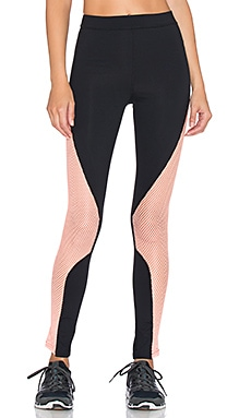MINKPINK Five Mile Legging in Black & Neon