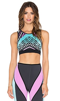 MINKPINK She's A Warrior Crop Top in Multi