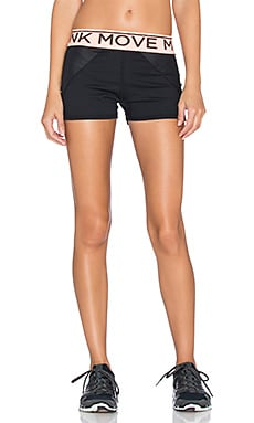 MINKPINK Time To Move Hot Pant in Black & Neon