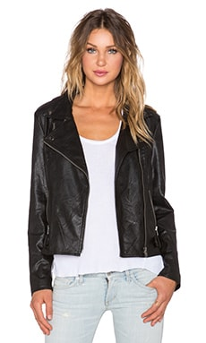 MINKPINK Reckless Biker Jacket in Black