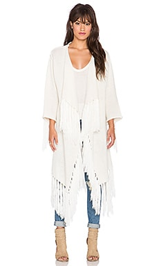 MINKPINK Enchanted Woods Kimono in Cream