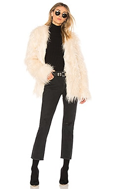 OTT Long Luxe Fur Jacket