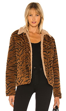 Wild Woman Faux Fur Jacket MINKPINK $169
