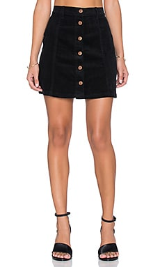 MINKPINK Don't Think So Mini Skirt in Black