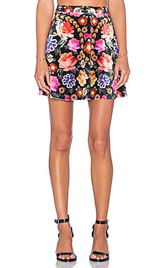 MINKPINK Little Gypsy Mini Skirt in Multi