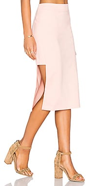 MINKPINK Moon Child Skirt in Blush