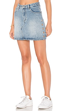 Youth A-Line Eyelet Mini Skirt