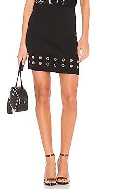 Eyelet Rib Skirt