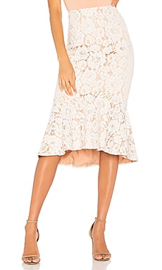 Marseille Lace Midi Skirt