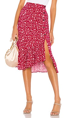 Sweet Like Me Midi Skirt MINKPINK $89