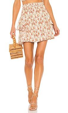 Zahari Mini Skirt MINKPINK $89