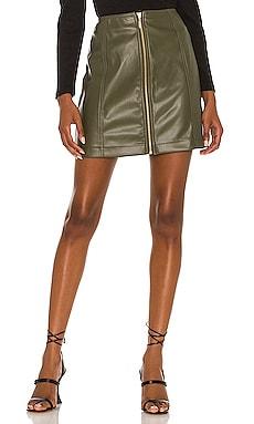 Zahlee Pu Mini Skirt MINKPINK $99