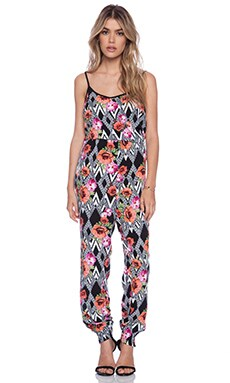 MINKPINK Scallop Lace Jumpsuit in Multi