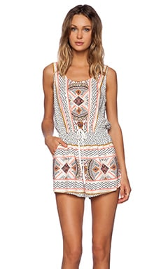 MINKPINK Space Cowboys Playsuit in Multi